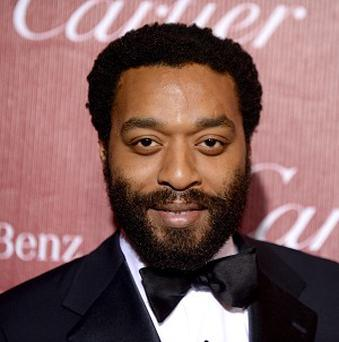 Chiwetel Ejiofor is nominated for the best actor Oscar for 12 Years A Slave
