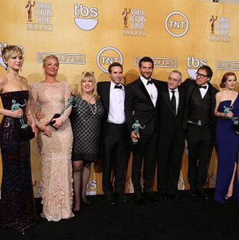 American Hustle won outstanding performance by a cast in a motion picture at the Screen Actors Guild Awards