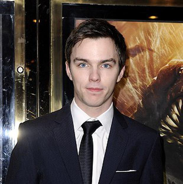 Nicholas Hoult said he could not be prouder of Jennifer Lawrence.