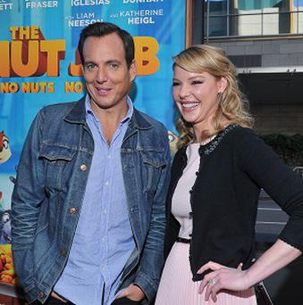 Will Arnett and Katherine Heigl are among the voice cast of The Nut Job