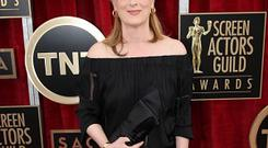 Meryl Streep was nervous as she did a read-through of her new film August: Osage County