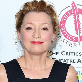 Lesley Manville plays a pixie in Maleficent