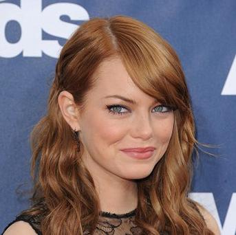 Emma Stone stars as Gwen Stacy in The Amazing Spider-Man 2