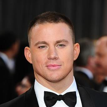 Channing Tatum said he's happy to be a bit chubbier