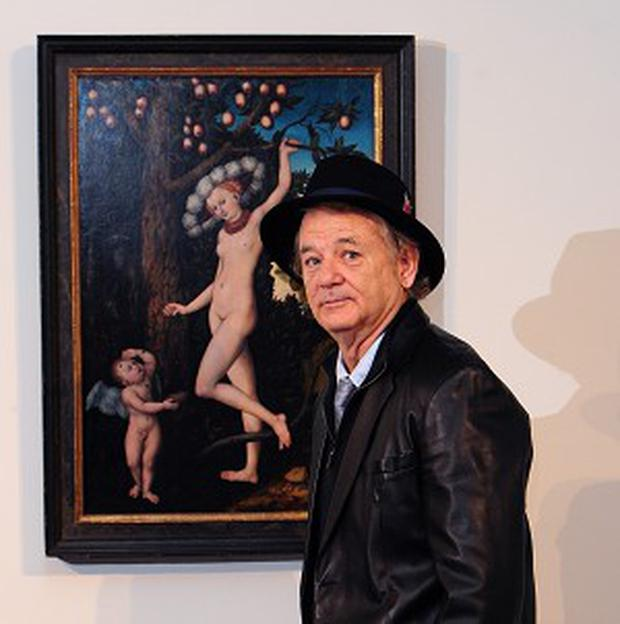 Bill Murray says art brought him back from the brink