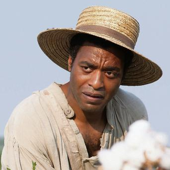 Actor Chiwetel Ejiofor in '12 Years A Slave'