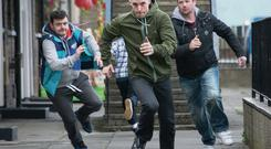 A scene from 'Love/Hate'