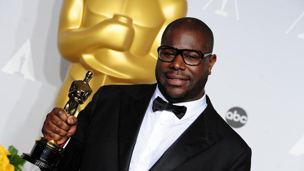 Steve McQueen failed to thank screenwriter John Ridley when he accepted the best film Oscar for 12 Years A Slave