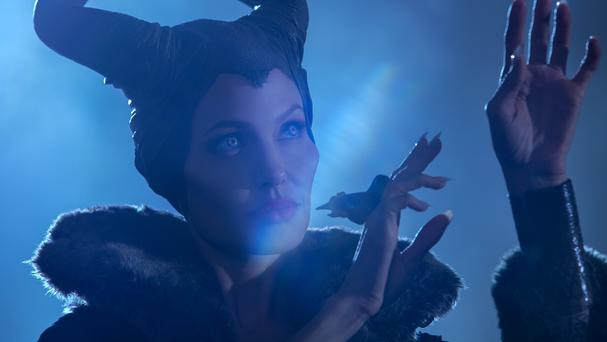 Angelina Jolie stars alongside her daughter Vivienne in Maleficent