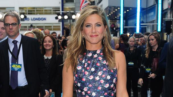 Jennifer Aniston has received an MTV nod for her performance We're The Millers