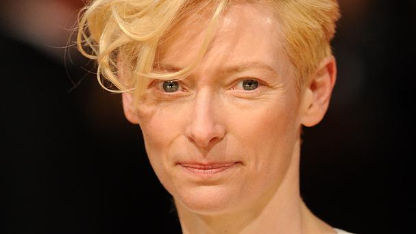 Tilda Swinton has said she based her Burn After Reading character on Fawlty Towers