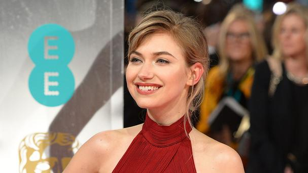 Imogen Poots says she didn't mind showing her bottom for A Long Way Down