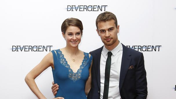 Shailene Woodley cooked her Divergent co-star Theo James dinners while they were shooting