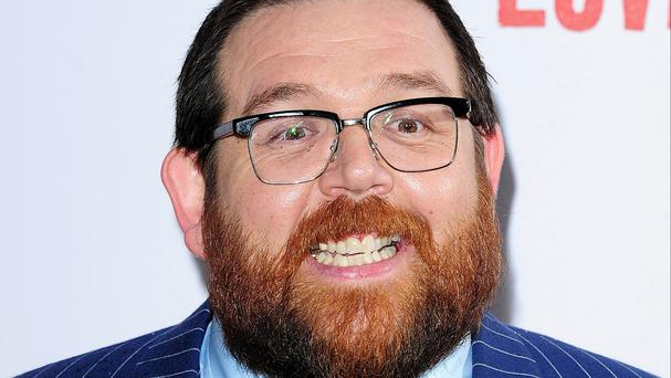 Nick Frost is going to direct a short horror film