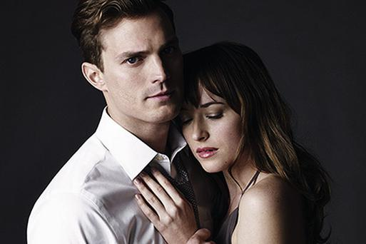 Dornan with his 'Fifty Shades of Grey' co-star Dakota Johnson