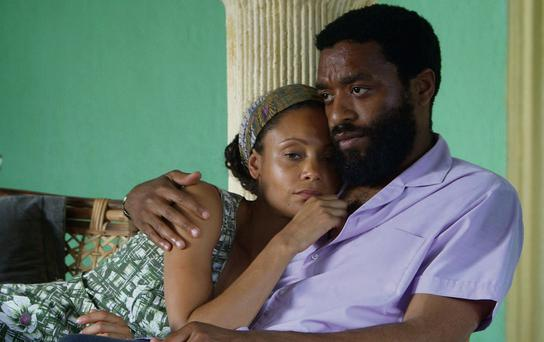 REVOLUTIONARY: Thandie Newton and Chiwetel Ejiofor star in Half of A Yellow Sun. This historical drama uses real news footage from the period to add an air of authenticity to the love story and heighten the viewers' emotional responses