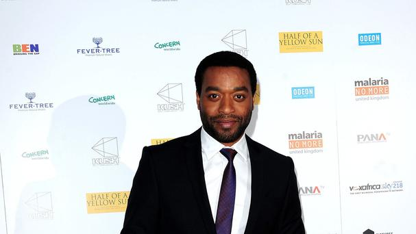 Chiwetel Ejiofor is apparently known to cab drivers since being nominated for an Oscar