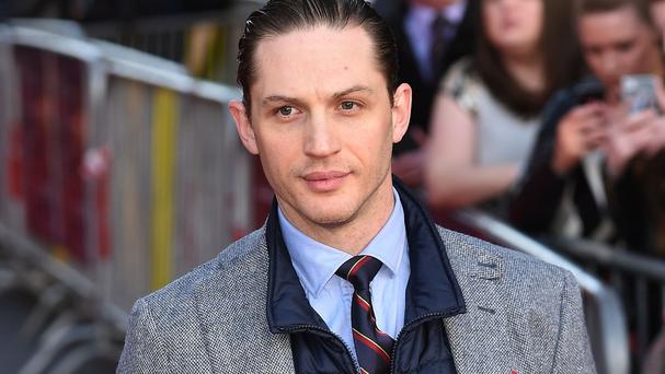 Tom Hardy at the premiere of Locke in Birmingham
