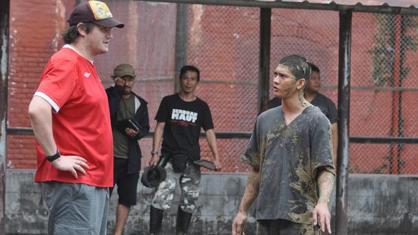 Gareth Evans directed The Raid 2, starring Iko Uwais