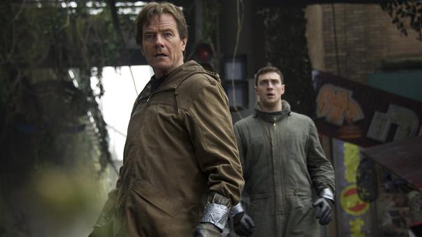 Bryan Cranston and Aaron Taylor-Johnson star in Gareth Edwards' Godzilla