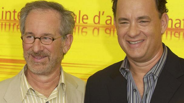 Director Steven Spielberg and actor Tom Hanks are long-term collaborators