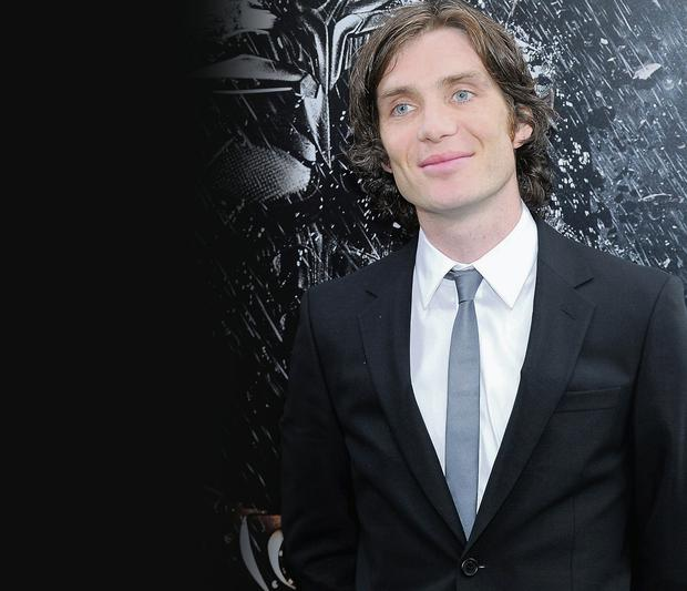 Fighting fit: Cillian Murphy