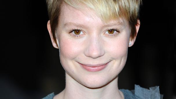 Mia Wasikowska always wanted a pet dog