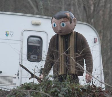 Michael Fassbender as Frank Sidebottom