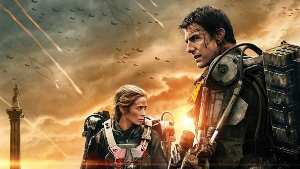 Tom Cruise and Emily Blunt will appear at three premieres in one day for Edge Of Tomorrow (Warner Bros)