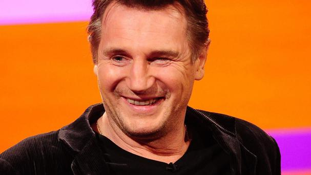Liam Neeson is set to star with Felicity Jones in the film A Monster Calls