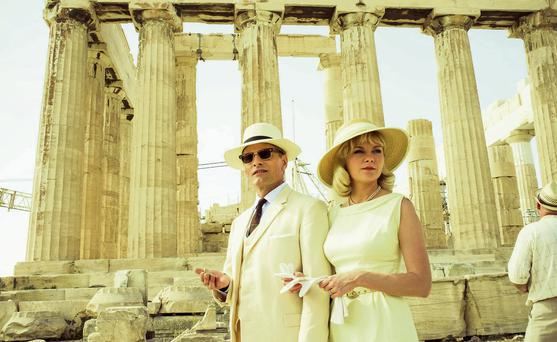 YE GODS: Viggo Mortensen and Kirsten Dunst in 'The Two Faces of January'.