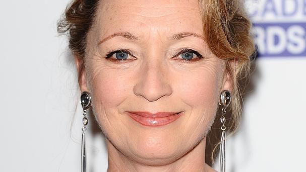 Lesley Manville plays the Queen in upcoming film, Theory Of Everything