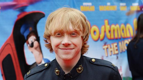 Rupert Grint, who plays Josh, arrives for the premiere of Postman Pat: The Movie at the Odeon, West End, London.
