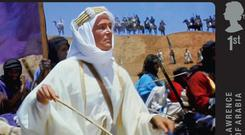 Lawrence Of Arabia is among the films featuring on a new set of stamps