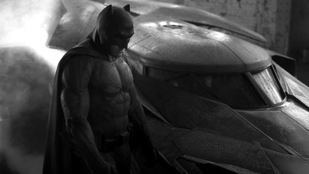 Zack Snyder has revealed Ben Affleck's Batman suit on Twitter