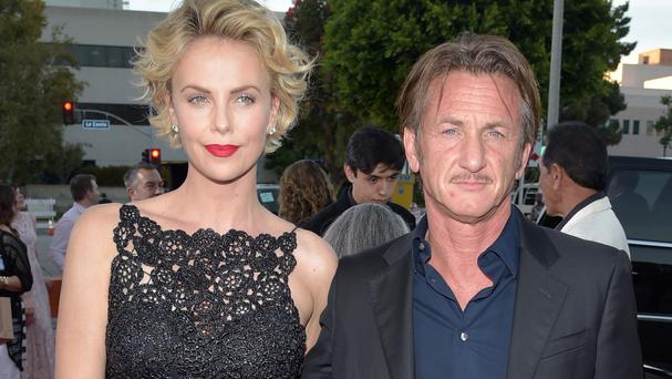 Charlize Theron and Sean Penn at the world premiere of A Million Ways To Die In The West