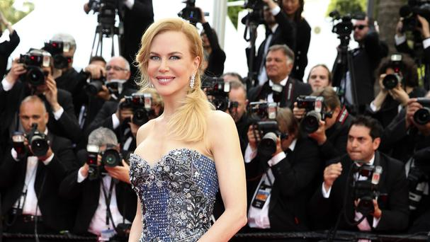Nicole Kidman says she would give up her film career for her family (AP)