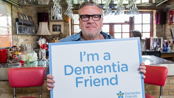 Ray Winstone is supporting the Dementia Friends campaign