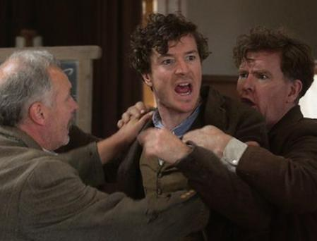 Passionate: Barry Ward as Jimmy Gralton in Jimmy's Hall.