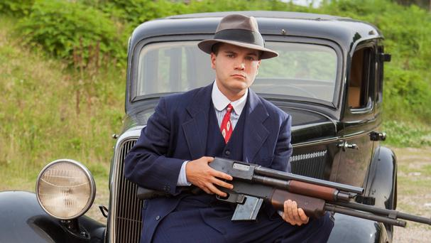Emile Hirsch plays outlaw Clyde Barrow in Bonnie And Clyde