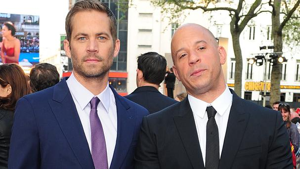 Vin Diesel said he was still grieving for Paul Walker when he went to work on the Guardians Of The Galaxy movie