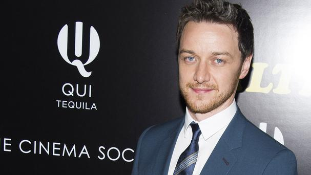 James McAvoy is fed up of people asking him about wanting to be a priest