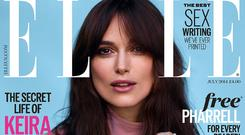 Keira Knightley fronts the cover of Elle UK's July issue (Thomas Whiteside/Elle UK)