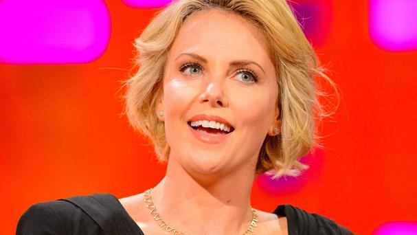 Charlize Theron has said she feels 'blessed' by her life and career