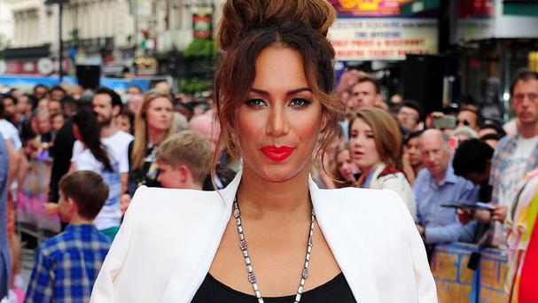 Leona Lewis attending the Walking On Sunshine premiere in London