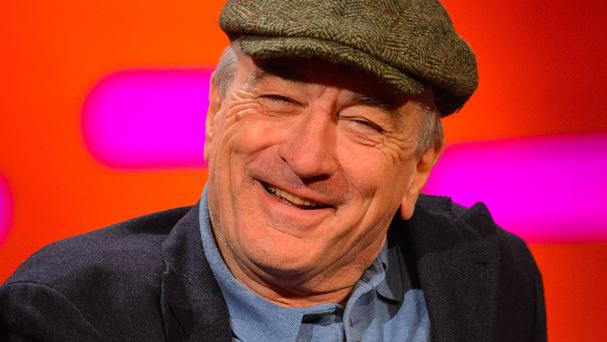 Robert De Niro will be honoured by New York's Friars Club in October