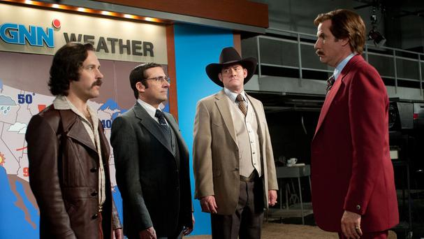 David Koechner loved reuniting with the cast of Anchorman for the sequel
