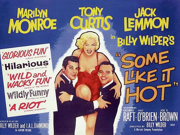 'Some Like it Hot' poster