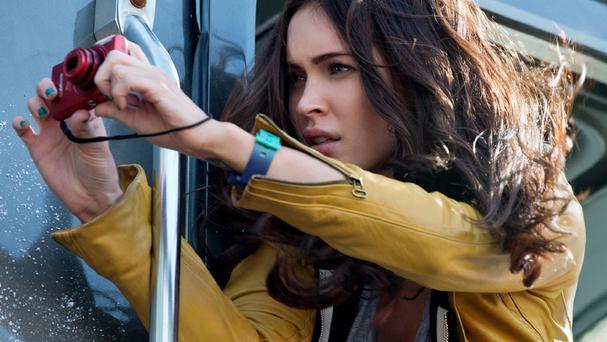 Megan Fox plays reporter April O'Neil in the Teenage Mutant Ninja Turtles film