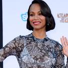 Zoe Saldana stars in Guardians Of The Galaxy